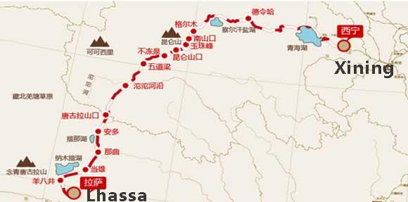 xining-Lhassa-train